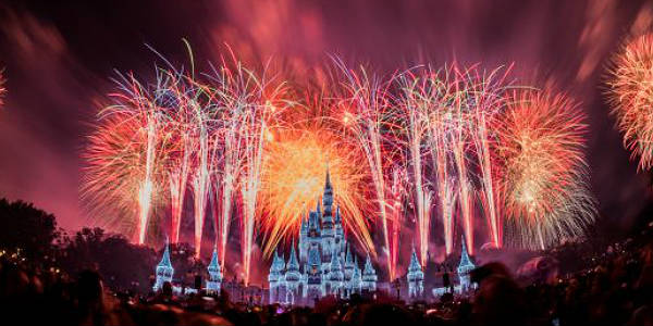 Walt Disney World To Live Stream Magic Kingdom's Fantasy In The Sky Fireworks Dec 31