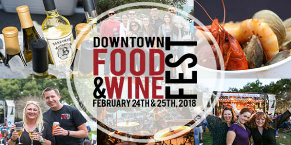 The 10th Annual Downtown Food & Wine Fest Returns to Lake Eola February 24 and 25
