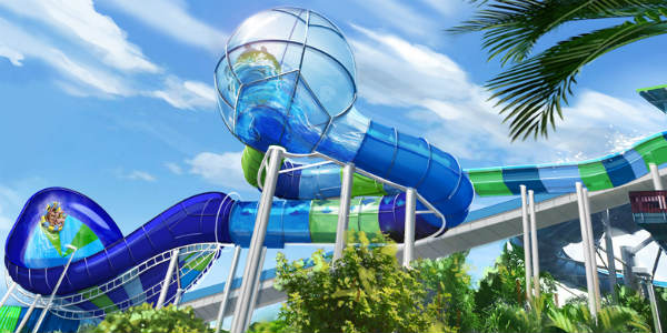 Ray Rush is a brand new attraction coming to Aquatica Orlando