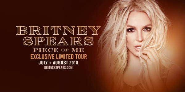 Britney Spears Limited Tour Comes to Seminole Hard Rock Hotel & Casino in Hollywood July 2018