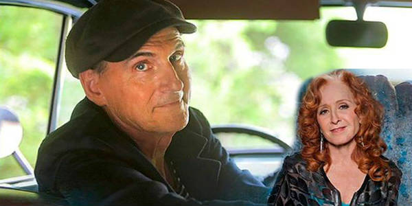 James Taylor to Play Two Central Florida Shows with Bonnie Raitt in May 2018