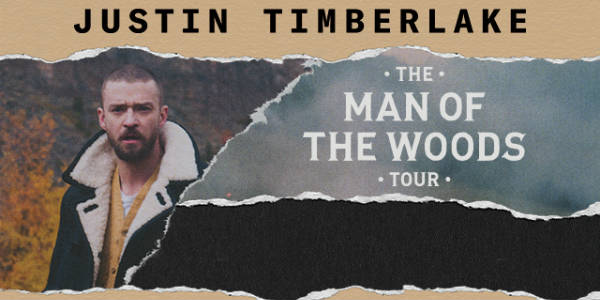"Justin Timberlake has announced dates for his upcoming ""The Man of the Woods Tour"" and it includes Central Florida shows in Orlando and Tampa in May 2018."