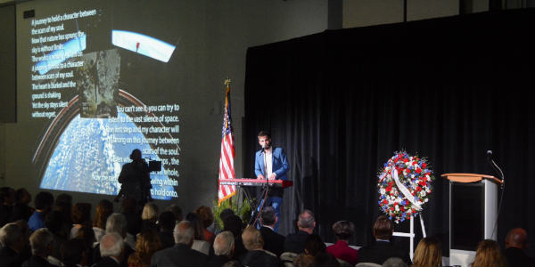 NASA Fallen Astronauts are Honored in Annual Ceremony at Kennedy Space Center - photo by Kirk Garreans for CitySurfing Orlando