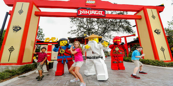 LEGO® NINJAGO® Days Take Over LEGOLAND Florida Weekends in Jan-Feb 2018
