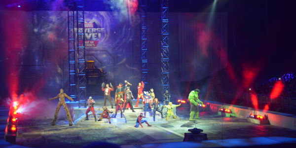 Out and About: Marvel Universe LIVE! Age of Heroes is Fun For the Whole Family - photo Kirk Garreans for CitySurfing Orlando