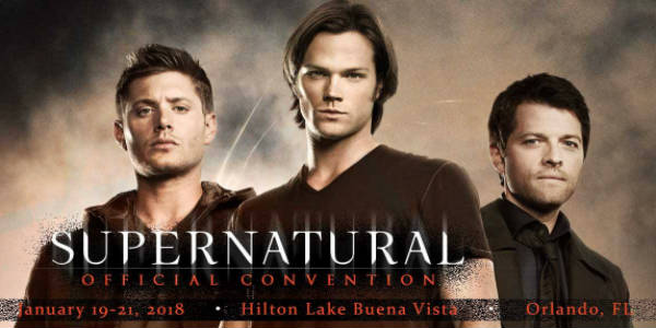 Supernatural Convention Comes to Orlando for First Time Jan 19-21, 2018