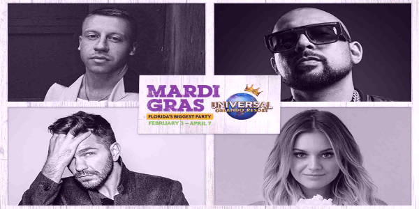 Universal Orlando Kicks Off Mardi Gras 2018 on February 3