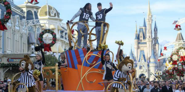 UCF Knights Celebrated with Parade at Magic Kingdom Park - photos courtesy Walt Disney World