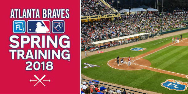 Spring brings the Atlanta Braves back to Orlando for Spring Training, and the action starts February 26 at Champion Stadium at the ESPN Wide World of Sports at Walt Disney World.