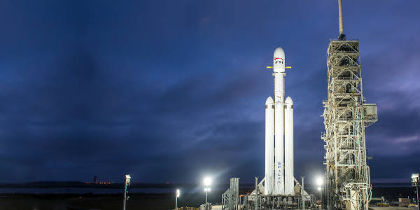 Kennedy Space Center Visitor Complex Offers Special Viewing Access For Launch of the SpaceX Falcon Heavy