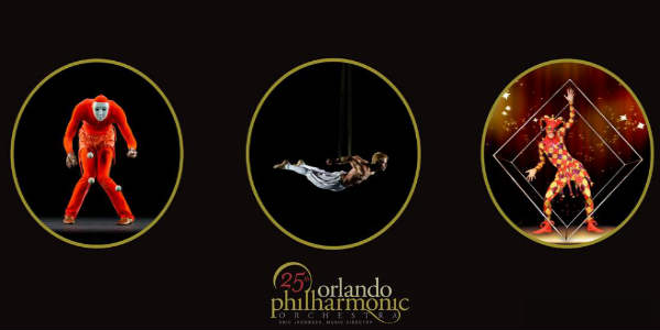 The Orlando Philharmonic Orchestra Presents Cirque de la Symphonie in an all-new program at the Bob Carr Theater for two shows on Saturday, February 3, 2018.