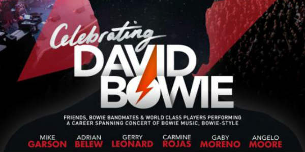 Put on your red shoes and dance the blues...CELEBRATING DAVID BOWIE plays Plaza Live Orlando on March 15, with a brand new Bowie show spanning his entire career.