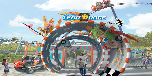 LEGO fans, start your engines! LEGOLAND Florida has announced Friday, March 23 as the grand opening date for its newest attraction, The Great LEGO Race.