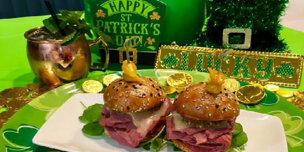 Urbain 40 in Dr Phillips is offering a special St. Patrick's Day menu.