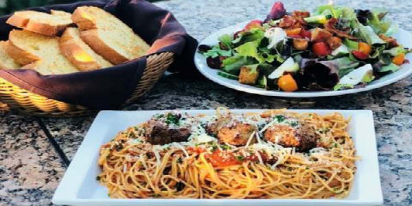 "K Restaurant has kicked off a ""Family Meal Mondays"" promotion. Monday dinners are now made easy with Chef Ryan and Chef Michelle's family meal dinners from 5pm-9pm. From Roasted Chicken to Spaghetti & Meatballs, check back weekly to see what's on the menu."