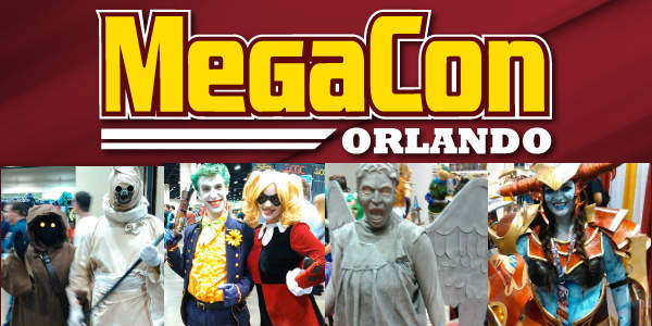 MegaCon Orlando, the Southeast's largest fan convention, returns to the Orange County Convention Center in Orlando, Memorial Weekend, May 24-27, 2018.
