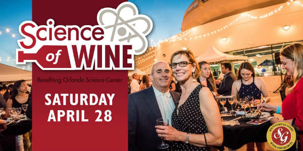 Uncork your inner sommelier and scientist at the 8th annual Science of Wine at the Orlando Science Center on Saturday, April 28, 2018.