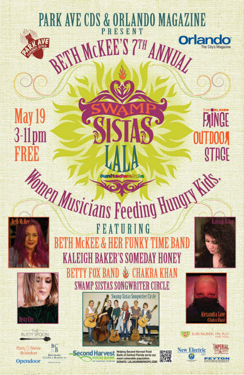 Beth McKee and the Swamp Sistas Songwriter Circle will launch the La La Summer Hope Virtual Food Drive
