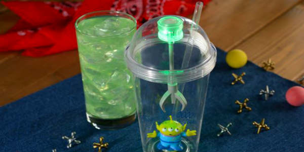 Alien Sipper Cup and Mystic Portal Punch at Woody's Lunch Box at Toy Story Land
