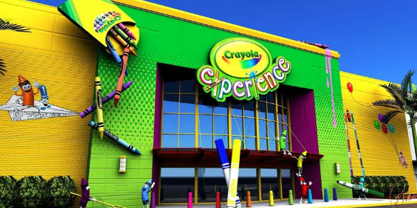 Crayola Experience Orlando at The Florida Mall