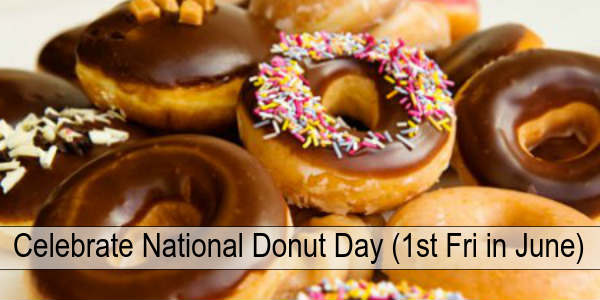 The first Friday in June is designated as National Donut Day. Here are the places in the Orlando area offering FREE donuts