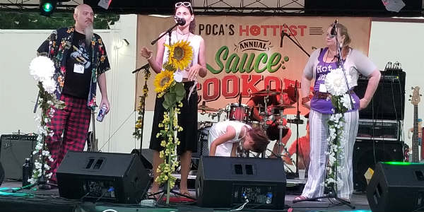 A recap of the 7th Annual Poca's Rock the Sauce food and music festival held at Will's Pub in Orlando.