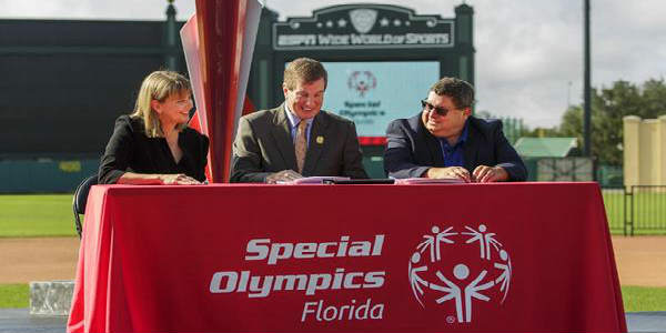 Special Olympics North America and Special Olympics Florida announced Orlando has been officially awarded and named the host city for the 2022 Special Olympics USA Games.