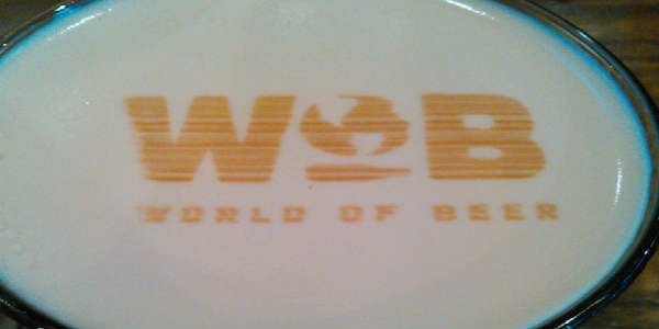 Check out CitySurfing Orlando's review of the new menu at World of Beer's Downtown Orlando location, on Lake Eola.