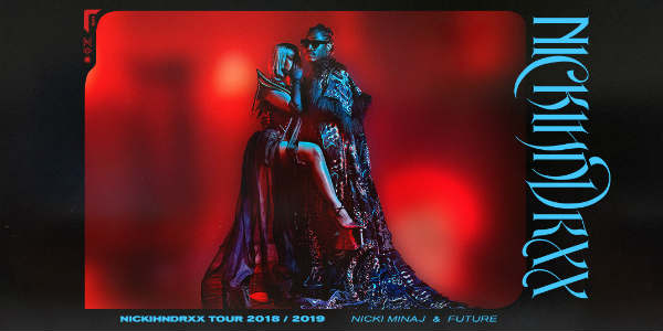 Hip-hop icons Nicki Minaj and Future are on the road together for the first time on their NickiHndrxx tour, and it includes a stop at Orlando's Amway Center on October 20, 2018.