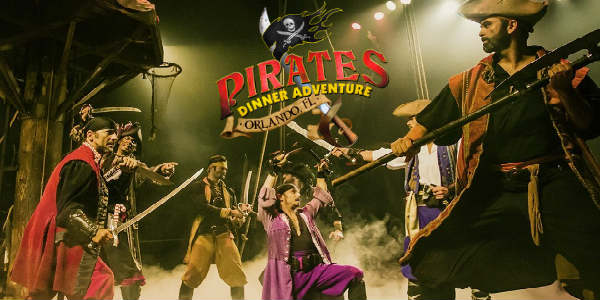 Orlando's favorite pirate ship attraction returns when Pirates Dinner Adventure reopens on July 4 following Hurricane Irma damage renovations.