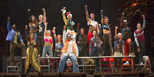 The iconic musical RENT is celebrating 20 years with dates at the Dr Phillips Center for the Performing Arts through Sunday, June 10, 2018, and it's a feast for senses.
