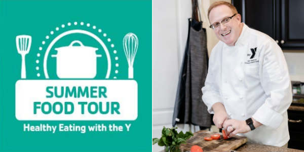 Chef Gary Appelsies, the Director of Healthy Eating at the YMCA of Central Florida, is launching his Summer Food Fun Tour across Central Florida starting today, June 18, and running through August 8, 2018.