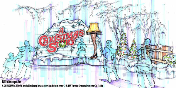 "The classic holiday film, ""A Christmas Story,"" will be the featured theme for ICE! at this year's Christmas at Gaylord Palms, the resort revealed this week."