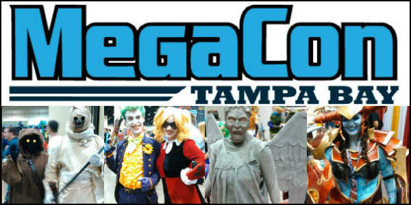 MEGACON™, the Southeast's largest fan convention, returns to the Tampa Convention Center for another star-studded event