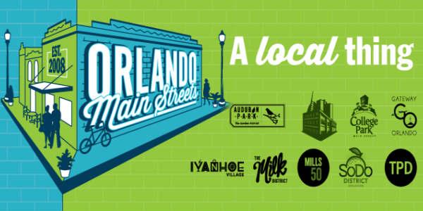 Orlando Main Streets banner