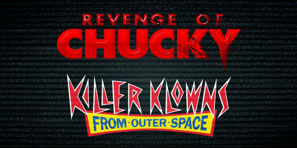 Universal Orlando has announced that two 80s horror icons, Chucky and Killer Klowns from Outer Space, will come to life as terrifying scare zones at Halloween Horror Nights 28.