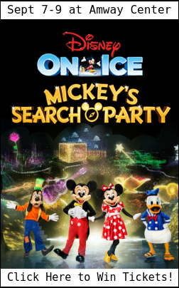 Enter to win tickets to Disney On Ice presents Mickey's Search Party in Orlando Sept 7-9, 2018.