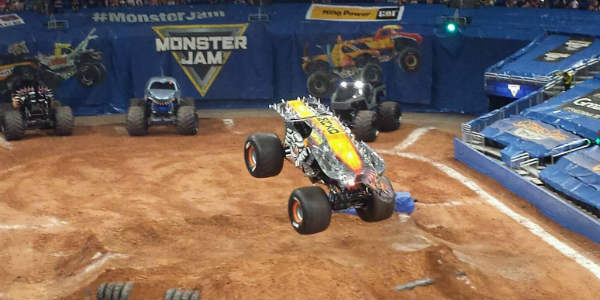 Monster Jam Triple Threat - photo by Kirk Garreans for CitySurfing Orlando