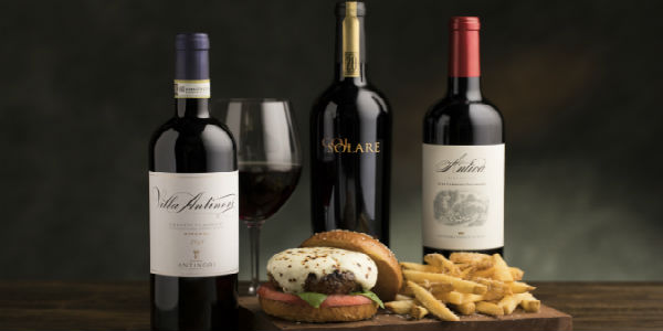 The Capital Grille has brought back Wagyu & Wine – a gourmet twist on America's classic burger paired with wine selections from the Antinori family, now in its 26th generation.