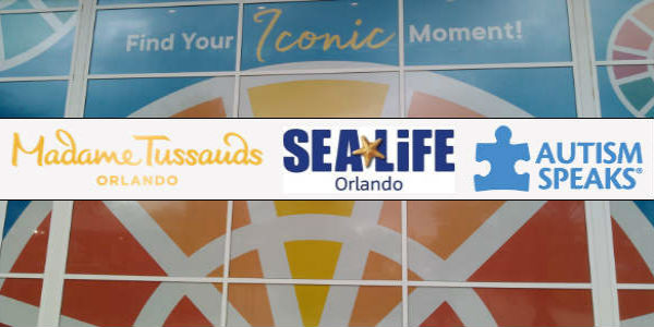 Merlin Entertainments is partnering with Autism Speaks to host its first ever Sensory Friendly Day inside Madame Tussauds Orlando and SEA LIFE Orlando Aquarium at ICON Orlando 360.