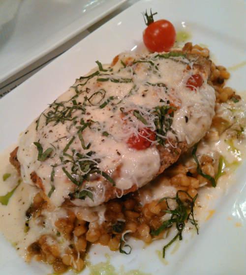Urbain 40 - Free-Range Organic Chicken Parmigiano Bianco