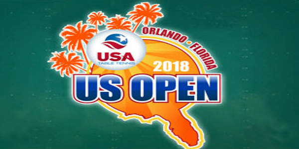 USA Table Tennis and the Central Florida Sports Commission have announced that the 2018 US Open Table Tennis Championships will be held in Orlando in December.