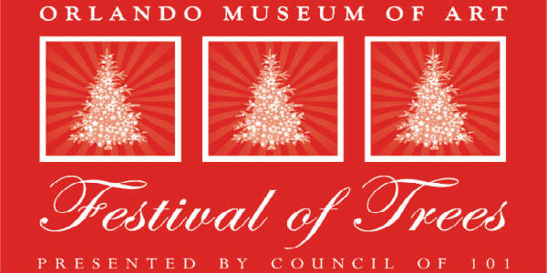 The halls of the Orlando Museum of Art will look a lot like Christmas when the 32nd annual Festival of the Trees returns November 10-18, 2018.