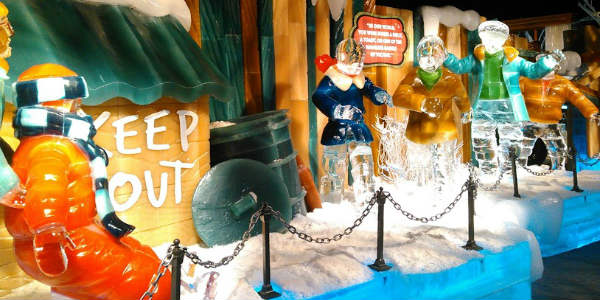 ICE! 2018 at Gaylord Palms Resort in Orlando - A Christmas Story