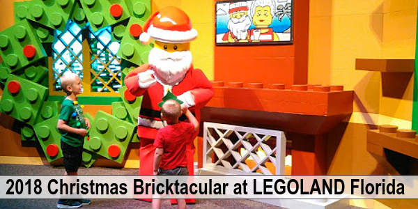 Christmas Bricktacular Returns to LEGOLAND Florida and CitySurfing Orlando gets to experience opening day. Here's what we thought of the holiday event...
