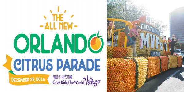 Florida Citrus Sports announces the all-new Orlando Citrus Parade, which takes place on Saturday, December 29th, in Downtown Orlando, and we have all the details.