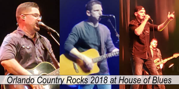 Orlando Country Rocks at House of Blues