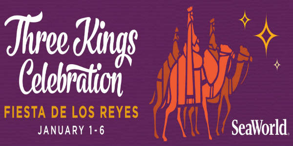 In honor of the cherished tradition of Latin cultures, SeaWorld Orlando is hosting its annual Three Kings Celebration