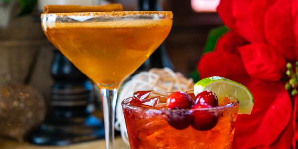 Universal Orlando - Pumpkintini + Cranberry Margarita