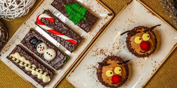 Universal Orlando Reindeer Cupcakes
